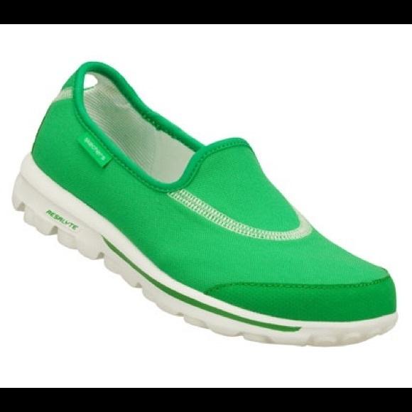 skechers go walk lite mens green Sale
